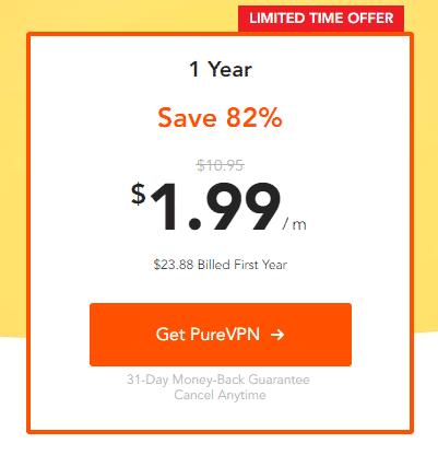 purevpn价格列表