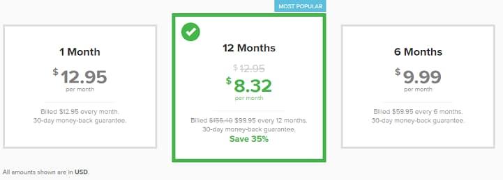 直接从官网进入购买页面,没有折扣优惠