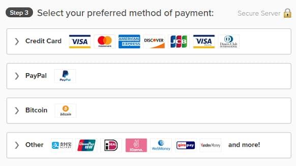 选择支付方式